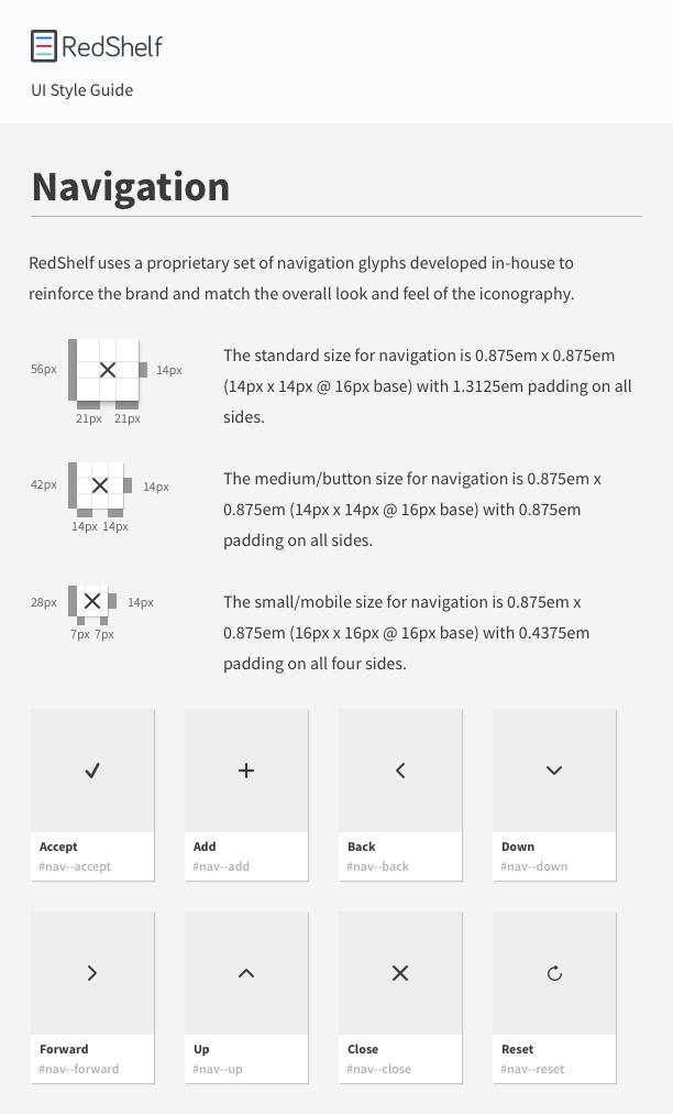 Design System - Navigation