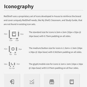 Design System - Iconography